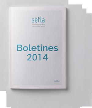 Boletines SETLA 2014